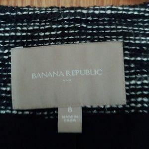 Banana Republic Blue and White blazer